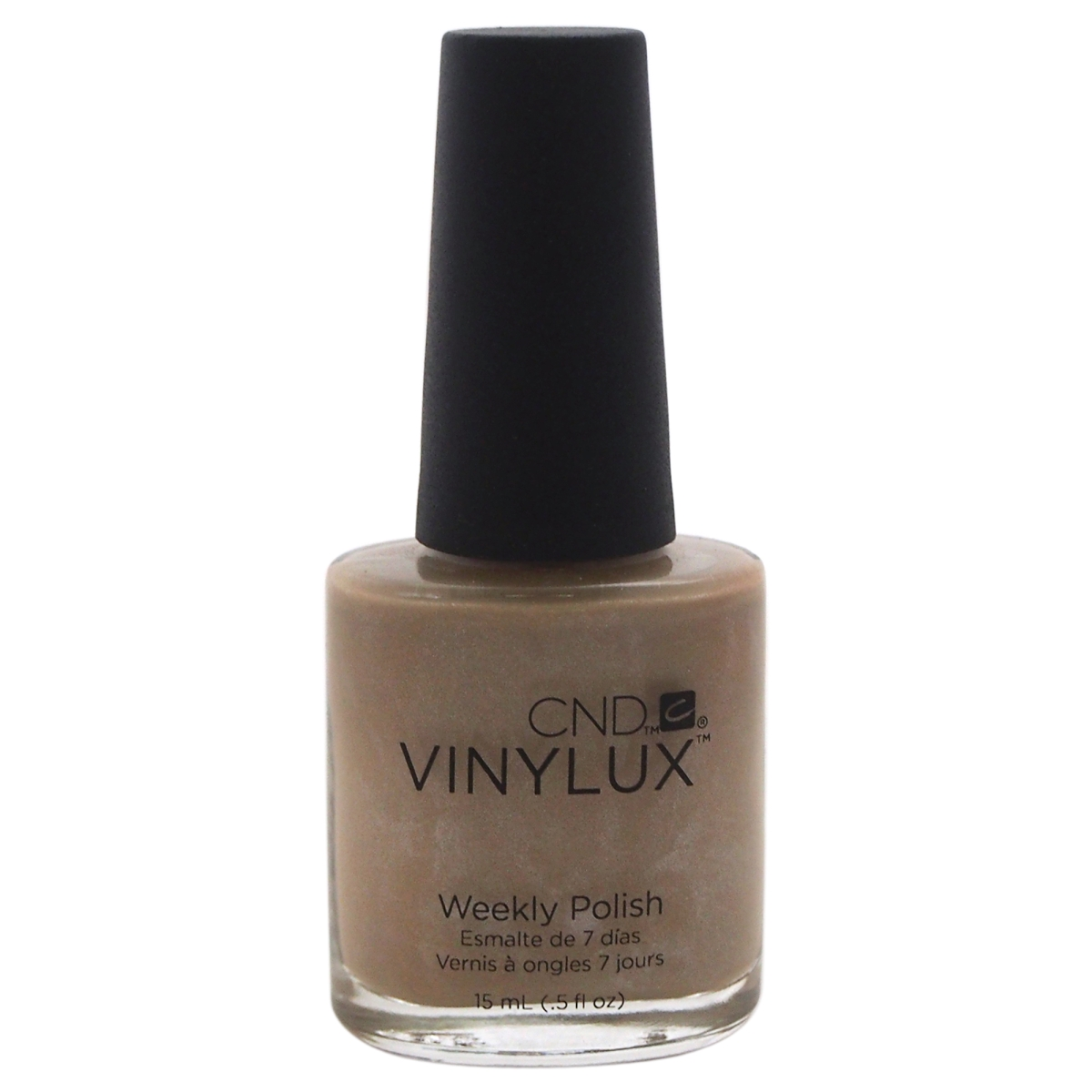 CND W-C-6735 Vinylux Weekly Polish at 123 Impossibly Plush Nail Polish for Women - 0.5 oz