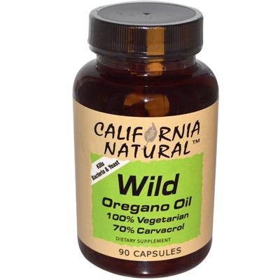 California Natural Wild Oregana Oil - 400 mg - 90 Capsules