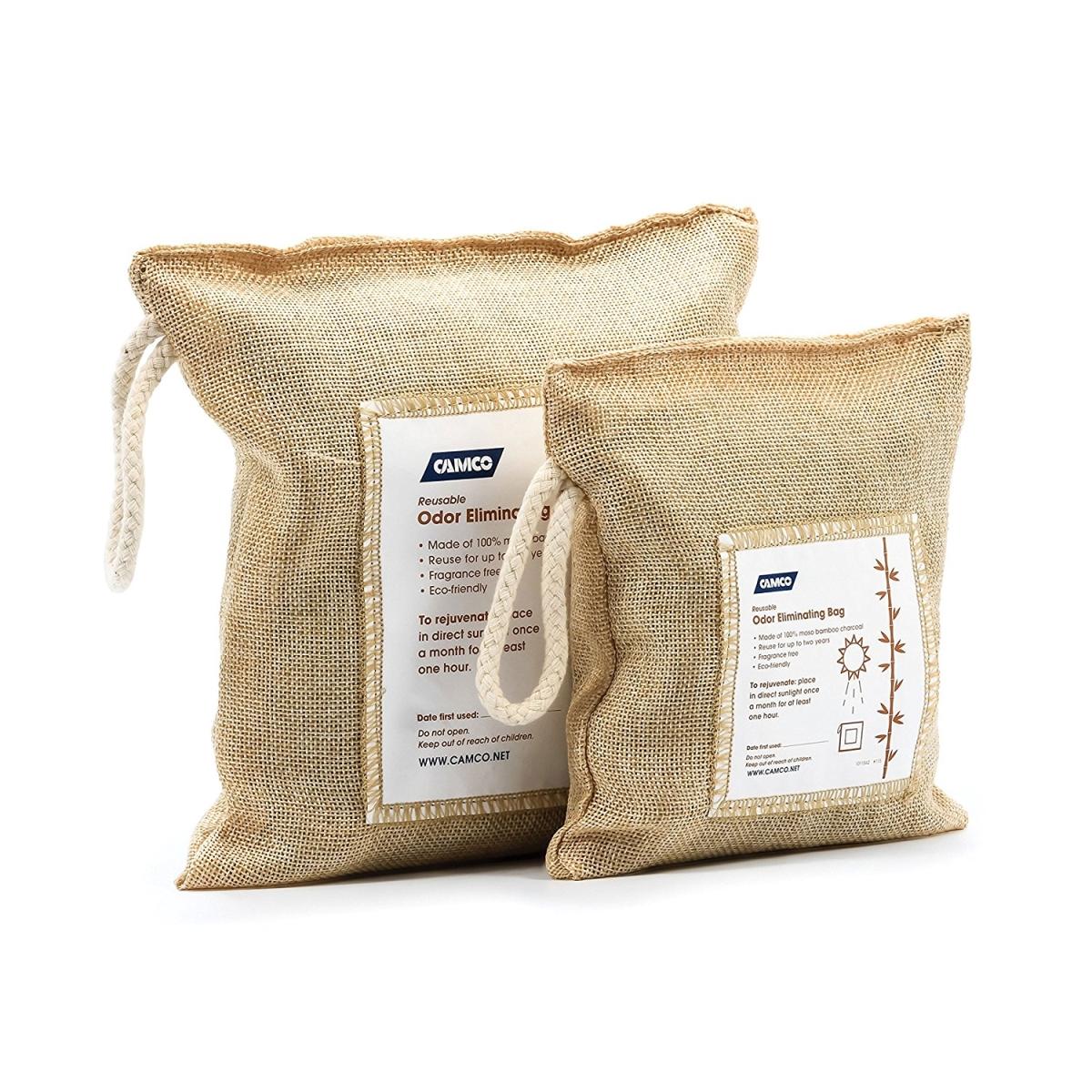 Camco C1W-44272 Reusable Bamboo Charcoal Air Freshener Bag Activa