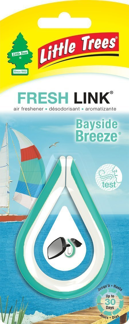 Car-Freshener CTK52034 Fresh Link Air Freshener Bayside Breeze