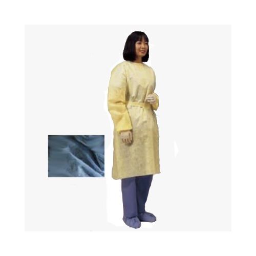 Cardinal Health 552200PG Universal Lightweight Isolation Gown Blue