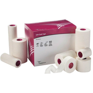 Cardinal Health 552THCL06S 6 in. x 10 yd Soft Cloth High Adhesion Tape