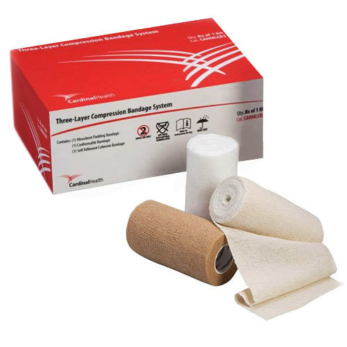 Cardinal Health 55CAHMLCB3 10 x 3.5 cm Three-Layer Compression Bandage System