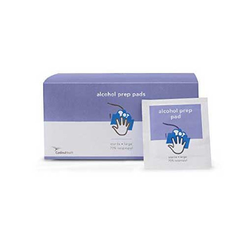 Cardinal Health 55MWAPM100 Sterile Alcohol Wipes Two Ply