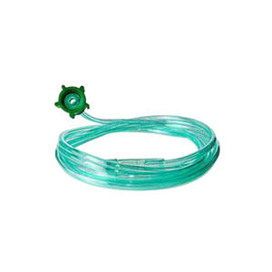Carefusion 55001304GRN 21 ft. Oxygen Supply Tubing with Crush-Resistant Lumen Green