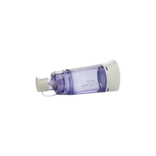 Carefusion 551079830 OptiChamber Diamond Chambers without Mask in Reclosable Bag Clear