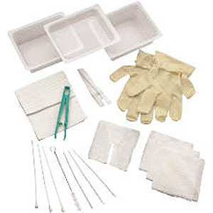 Carefusion 554682A Complete Tracheostomy Cleaning Tray without Gloves