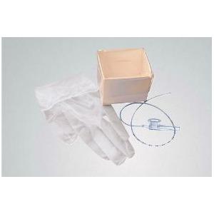 Carefusion 554897T 8 fr Economy Suction Kits with 2 Powder Vinyl Gloves