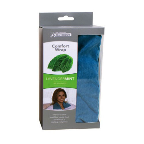 Carex Health Brands RMBBF401512 Bed Buddy at Home Comfort Wrap Blue