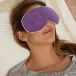 Carex Health RMBBF4006 Bed Buddy at Home Relaxation Mask Purple