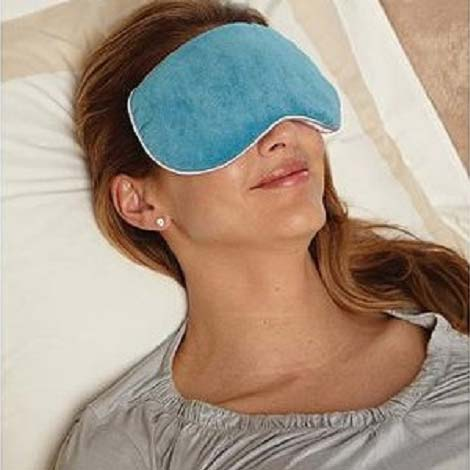 Carex Health RMBBF4014 Home Relaxation Mask - Teal Blue