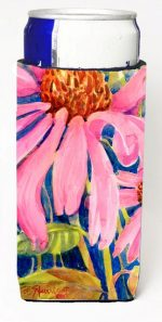 Carolines Treasures 6027MUK Flower - Coneflower Michelob Ultra s For Slim Cans - 12 oz.