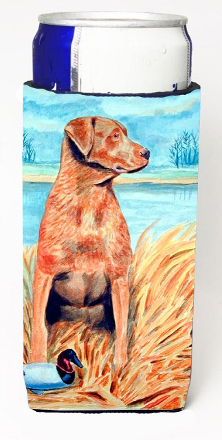 Carolines Treasures 7112MUK Chesapeake Bay Retriever Michelob Ultra bottle sleeves For Slim Cans - 12 oz.