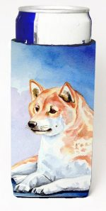 Carolines Treasures 7135MUK Shiba Inu Michelob Ultra bottle sleeves For Slim Cans - 12 oz.