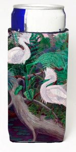 Carolines Treasures 7142MUK Bird - Egret Michelob Ultra bottle sleeves For Slim Cans - 12 oz.