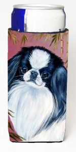 Carolines Treasures 7149MUK Japanese Chin Michelob Ultra bottle sleeves For Slim Cans - 12 oz.