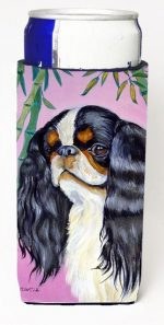 Carolines Treasures 7170MUK English Toy Spaniel Michelob Ultra bottle sleeves For Slim Cans - 12 oz.