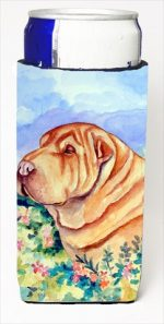 Carolines Treasures 7271MUK Shar Pei Michelob Ultra bottle sleeves For Slim Cans - 12 Oz.