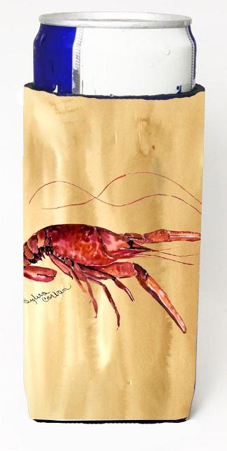 Carolines Treasures 8230MUK Crawfish Sandy Beach Michelob Ultra s For Slim Cans - 12 oz.