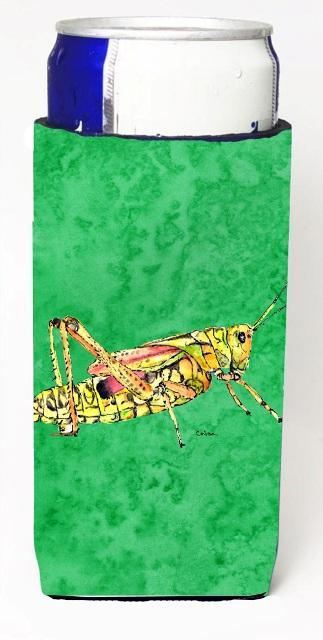 Carolines Treasures 8849MUK Grasshopper On Green Michelob Ultra bottle sleeves For Slim Cans - 12 oz.