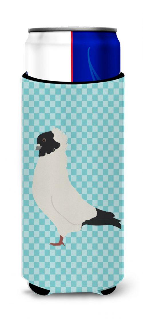 Carolines Treasures BB8126MUK Nun Pigeon Blue Check Michelob Ultra Hugger for Slim Cans