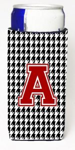 Carolines Treasures CJ1021-AMUK Houndstooth Monogram Letter A Michelob Ultra s For Slim Cans