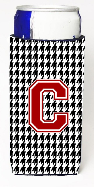 Carolines Treasures CJ1021-CMUK Houndstooth Monogram Letter C Michelob Ultra s For Slim Cans