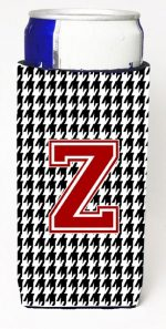 Carolines Treasures CJ1021-ZMUK Houndstooth Letter Z Michelob Ultra s For Slim Cans