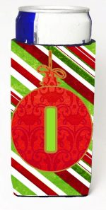 Carolines Treasures CJ1039-IMUK Christmas Ornament Holiday Monogram Initial Letter I Michelob Ultra s For Slim Cans