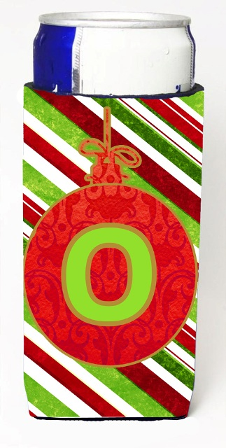 Carolines Treasures CJ1039-OMUK Christmas Ornament Holiday Monogram Initial Letter O Michelob Ultra s For Slim Cans