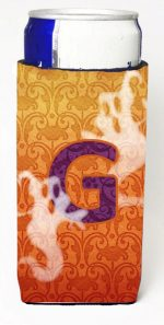 Carolines Treasures CJ1040-GMUK Halloween Ghosts Monogram Initial Letter G Michelob Ultra s For Slim Cans