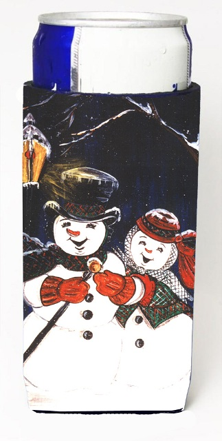Carolines Treasures CN5134MUK Snowman Couple Michelob Ultra s For Slim Cans - 12 oz.