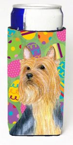 Carolines Treasures LH9406MUK Silky Terrier Easter Eggtravaganza Michelob Ultra s For Slim Cans - 12 oz.
