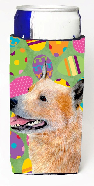 Carolines Treasures LH9407MUK Australian Cattle Dog Easter Eggtravaganza Michelob Ultra s For Slim Cans - 12 oz.