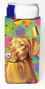 Carolines Treasures LH9415MUK Vizsla Easter Eggtravaganza Michelob Ultra s For Slim Cans - 12 oz.