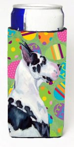 Carolines Treasures LH9416MUK Great Dane Easter Eggtravaganza Michelob Ultra s For Slim Cans - 12 oz.