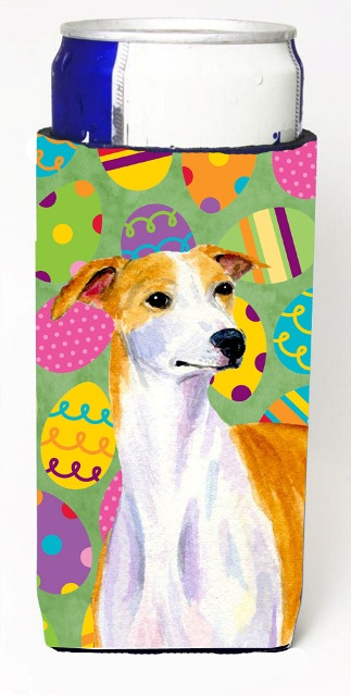 Carolines Treasures LH9418MUK Whippet Easter Eggtravaganza Michelob Ultra s For Slim Cans - 12 oz.
