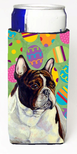 Carolines Treasures LH9427MUK French Bulldog Easter Eggtravaganza Michelob Ultra s For Slim Cans - 12 oz.