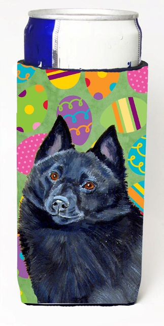 Carolines Treasures LH9429MUK Schipperke Easter Eggtravaganza Michelob Ultra s For Slim Cans - 12 oz.