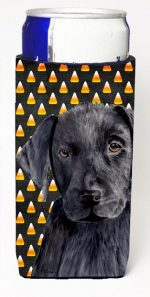 Carolines Treasures SC9175MUK Labrador Candy Corn Halloween Portrait Michelob Ultra s For Slim Cans - 12 oz.