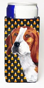 Carolines Treasures SC9179MUK Beagle Candy Corn Halloween Portrait Michelob Ultra s For Slim Cans - 12 oz.