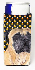 Carolines Treasures SC9183MUK Mastiff Candy Corn Halloween Portrait Michelob Ultra s For Slim Cans - 12 oz.