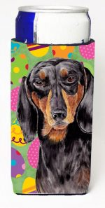 Carolines Treasures SC9443MUK Dachshund Easter Eggtravaganza Michelob Ultra s For Slim Cans - 12 oz.