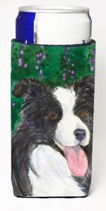 Carolines Treasures SS1053MUK Border Collie Michelob Ultra s For Slim Cans - 12 oz.