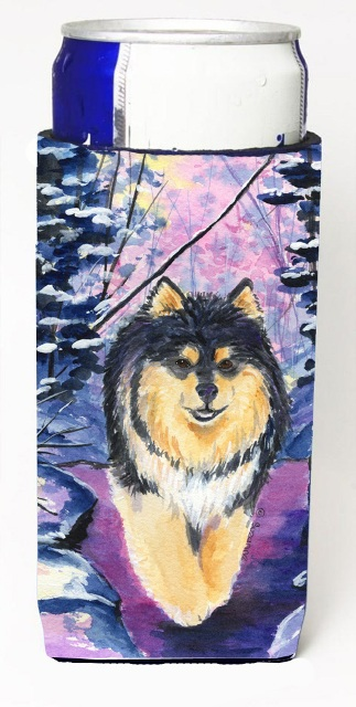 Carolines Treasures SS1054MUK Finnish Lapphund Michelob Ultra s For Slim Cans - 12 oz.
