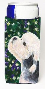 Carolines Treasures SS1055MUK Dandie Dinmont Terrier Michelob Ultra s For Slim Cans - 12 oz.