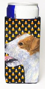 Carolines Treasures SS4297MUK Jack Russell Terrier Candy Corn Halloween Portrait Michelob Ultra s For Slim Cans - 12 oz.