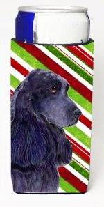 Carolines Treasures SS4540MUK Cocker Spaniel Candy Cane Holiday Christmas Michelob Ultra s For Slim Cans - 12 oz.