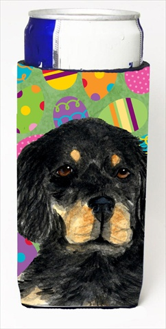 Carolines Treasures SS4860MUK Gordon Setter Easter Eggtravaganza Michelob Ultra bottle sleeves For Slim Cans - 12 Oz.