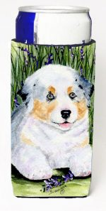 Carolines Treasures SS8005MUK Australian Shepherd Michelob Ultra s For Slim Cans - 12 oz.